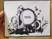 切り絵 『1925』
