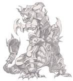 遊戯王のモンスター描いてみた その2