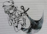 【筆ペン】キャプテン・ムラサ