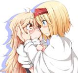 おぼこい魔理沙と攻め気なアリス
