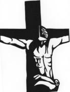 切り絵 イエス・キリスト