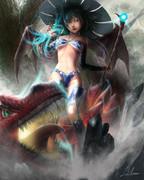 ドラゴンと魔女