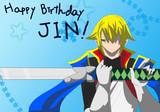 Happybirthday ジン!