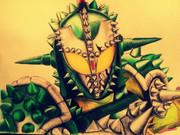 仮面ライダーブラーボを描いてみた。