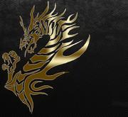 ドラゴンのサムネ(左寄せバージョン)