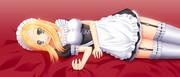 メイドエルフ抱き枕風味