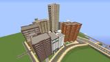 【Minecraft】中高層マンション(昼)