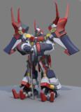 【オリジナルロボット】 紅牙 別アングル