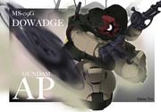 【ガンダムAP】ドワッジ