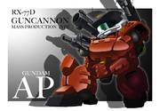 【ガンダムAP】ガンキャノン量産型