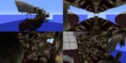 【Minecraft】超コジマ重力砲発射形態
