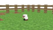 子羊@牧場【Minecraft】