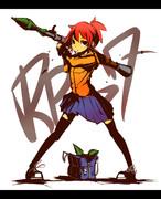 ジト目少女とRPG