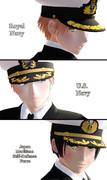 しゃち式日/英/米海軍動画用モデル製作脱線中ショットその1