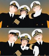 しゃち式日/英/米海軍動画用モデル製作脱線中ショットその3