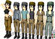 【SonicAngelsのモデル】モブ整備班長娘v2.00N