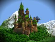 【Minecraft】木彫の古城 ゼルコヴァ その2