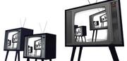 レトロ風テレビ