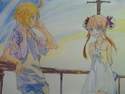 エミル&マルタ(模写して描いたイラスト)
