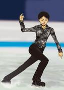 フィギュアスケートの羽生結弦選手