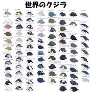 世界の鯨類 ちびキャラ化計画