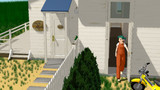 【MMD】母屋の玄関の中を作ってみた
