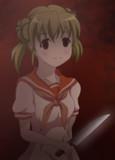 ひぐらし 公由夏美をヤンデレっぽく描いてみた