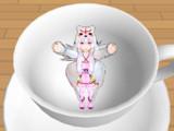 コーヒーカップ イン ガガさん
