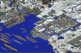 南軍港地帯 安芸城周囲
