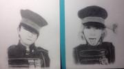 SEKAI_NO_OWARIのfukaseさんとsaoriさんを描いてみた。