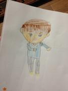 5歳女児が描いたアムロ