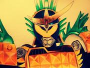 仮面ライダー鎧武 パインアームズを描いてみた。