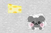 チーズ&ネズミ クレヨン風
