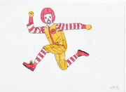 ドナルドを描いてみた