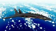 【MMD空軍】F-14Dのラーズグリーズ戦闘機部隊カラーを再現【試験飛行】
