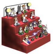 ウチの鎮守府の雛壇