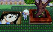 とび森でニセコイ「小野寺小咲(32×32)×9)」を描いてみた