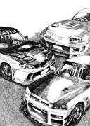 GT-R インプレッサ スープラ