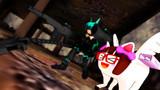 【MMD】ロボ子とキモ春香の小さな冒険 しょの4 「兵装」「ヴメェェ♪(私も))」