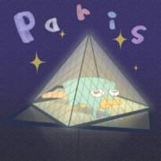 パリ・ルーヴル美術館のピラミッド