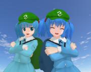 【MMD】河城にとり心綺楼バージョン追加【モデル更新】