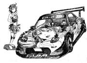 マツダ RX-7 痛車