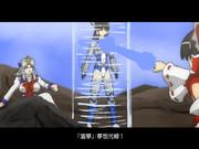 [東方機械録]霊夢対メカ霊夢 シーン36