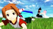 【MMD戦勇。】誕生日おめでとー!【アルバ誕生祭2014】
