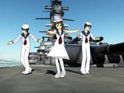 【すいまじ】 自作水兵さんたち