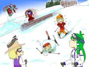 ロマンスの神様たち in 妖怪の山スキー場