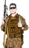 海兵隊をイメージ