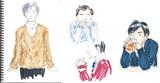 らくがき:男性の萌え袖