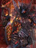 怨霊を身にまとう暗黒の騎士