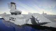 【minecraft】航空母艦アドミラル56
